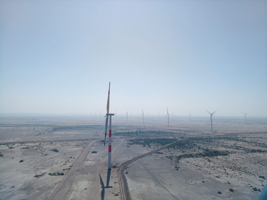 GE launches 50MW wind farm in Sindh